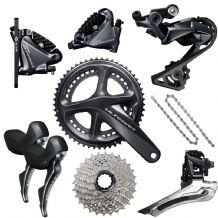 SHIMANO ULTEGRA R8020 FULL DISC BRAKE GROUPSET - DOUBLE - 11 SPEED